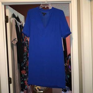 Blue JCrew dress size 2